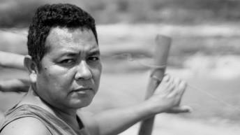 Tito Krenak, professor na aldeia Krenak afetada com o rompimento da barragem de Mariana